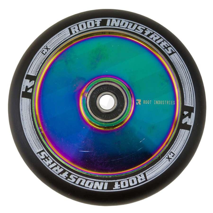 Root Industries AIR Hollowcore Light 110mm Wheel Black Blue inc Bearings